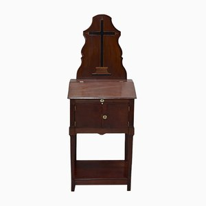 19th Century Mahogany Prayer Table