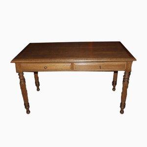 Antiker Schreibtisch aus Eiche