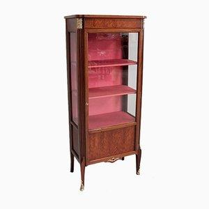 Vintage Louis XVI Style Mahogany and Rosewood Veneer Cabinet