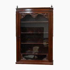 Antique Mahogany Wall Cupboard