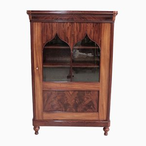 Antique Mahogany and Glass Cabinet