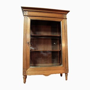Vintage Louis XVI Style Walnut Cabinet