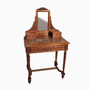 Antique Louis XVI Style Oak and Marble Dresser