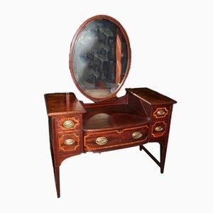 Antique English Mahogany and Rosewood Dresser