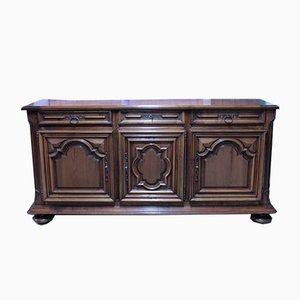 19th Century Louis XIV Style Walnut Sideboard