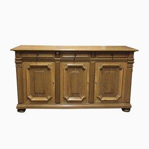 Vintage Louis XIV Style Oak Sideboard