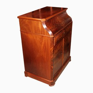 19th Century Louis-Philippe Mahogany and White Marble Dresser