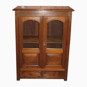 Small Antique Teak Cabinet