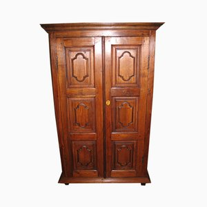 Antique Louis XIV Style Teak Wardrobe