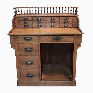 Comptoir de Caisse Antique en Chêne