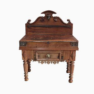 19th Century Beech Worktable