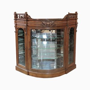 Vintage Oak Display Case