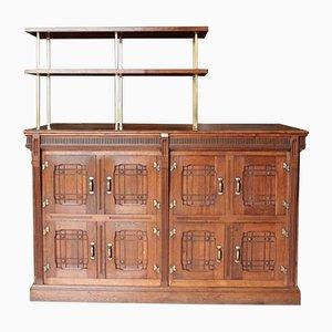 Vintage Oak Cooler Cabinet, 1920s