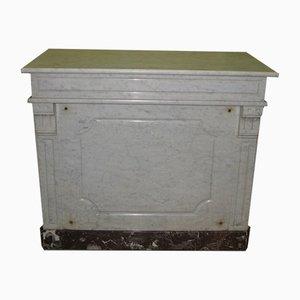 Bancone da negozio vintage in marmo, anni '20