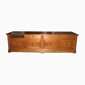 Antique Pinewood Store Counter