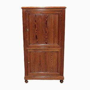 Small Vintage Fir Cabinet, 1920s