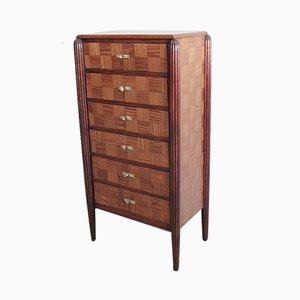 Vintage Mahogany Veneer Dresser