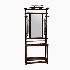 Vintage Bamboo Cloakroom Rack
