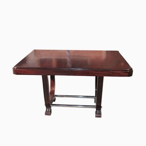 Vintage Mahogany Extendable Dining Table