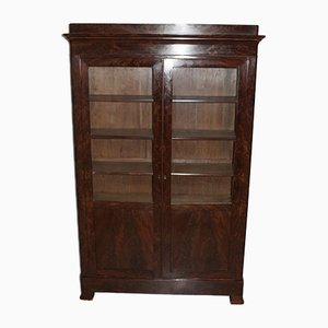 Antique Mahogany Veneer Shelf