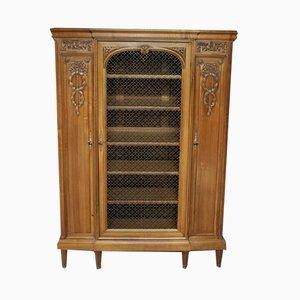 Vintage Walnut Bookcase from Stourm