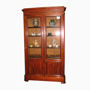 Antique Mahogany and Oak Cupboard