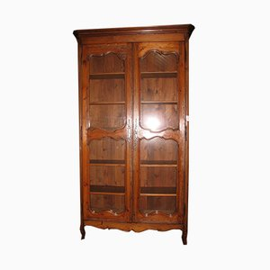 Large Antique Louis XV Style Pinewood Cabinet