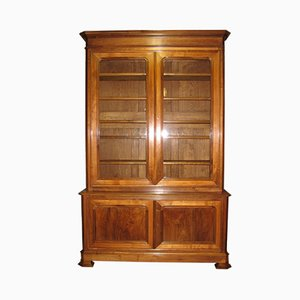Large 19th Century Walnut Cabinet