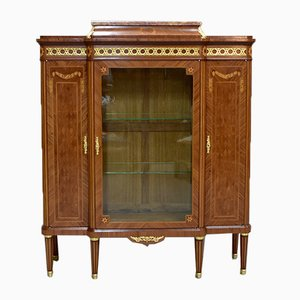Vintage Rosewood and Marble Cabinet