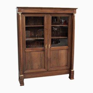 Antique Walnut and Mahogany Cabinet