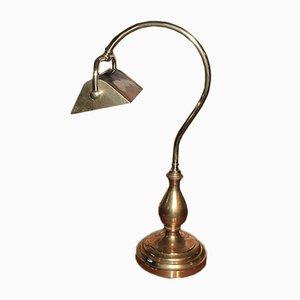 Antike Tischlampe aus Messing