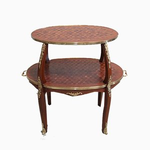 Vintage Rosewood Marquetry Coffee Table