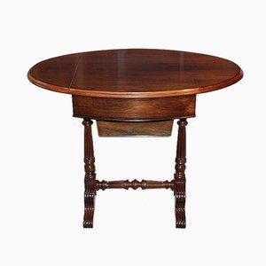 Tavolino da caffè Luigi Filippo in palissandro, XIX secolo