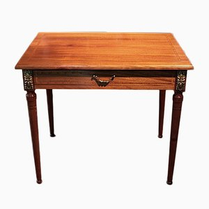 Vintage Louis XVI Style Mahogany and Rosewood Coffee Table, 1930s