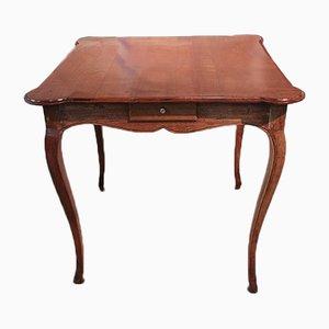 Antiker Louis XV Spieltisch aus Kirschholz