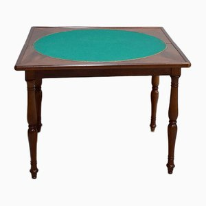 Antique Mahogany Veneer Coffee Table