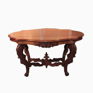 Table Basse Napoléon III en Acajou, 19e Siècle