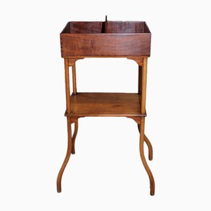 Vintage Cherry Wood Side Table