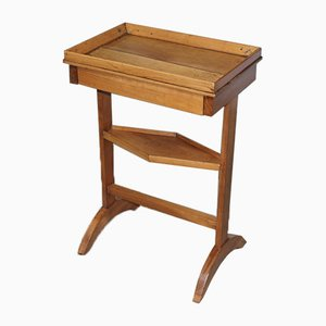 Antique Cherry Wood Side Table