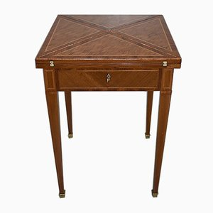 Antique Rosewood Game Table, 1900s