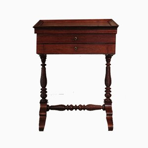 Antique Louis Philippe Style Rosewood Writing Table