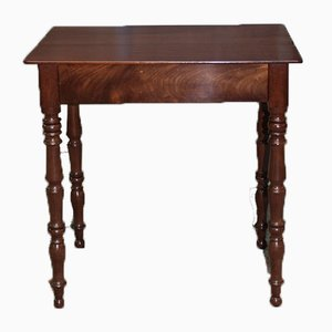 Antique Cuban Mahogany Side Table