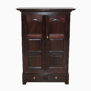 Antique Rosewood Spice Cabinet