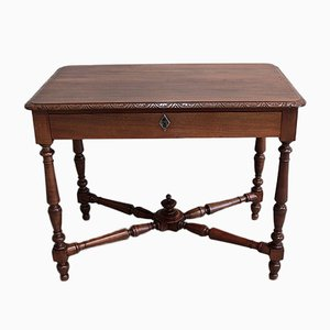 Antique Walnut Writing Desk