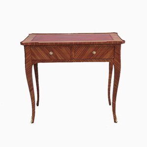 Vintage Rosewood Marquetry Desk