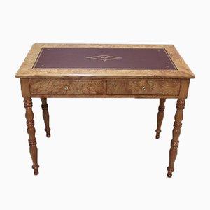 Louis Philippe Schreibtisch aus Eschenholz, 19. Jh.