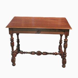Antiker Schreibtisch aus Nussholz