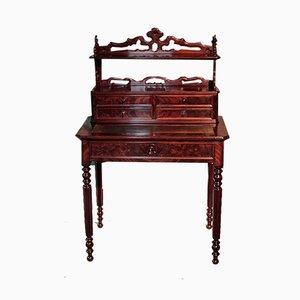 Louis Philippe Schreibtisch aus Mahagoni, 19. Jh.