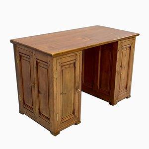 Vintage Schreibtisch und Lager aus Kiefernholz