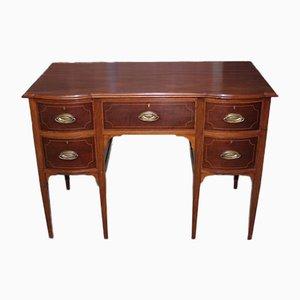 Antiker englischer Schreibtisch aus Mahagoni